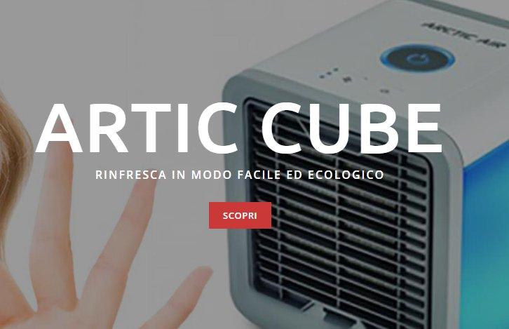 artic air cube recensione
