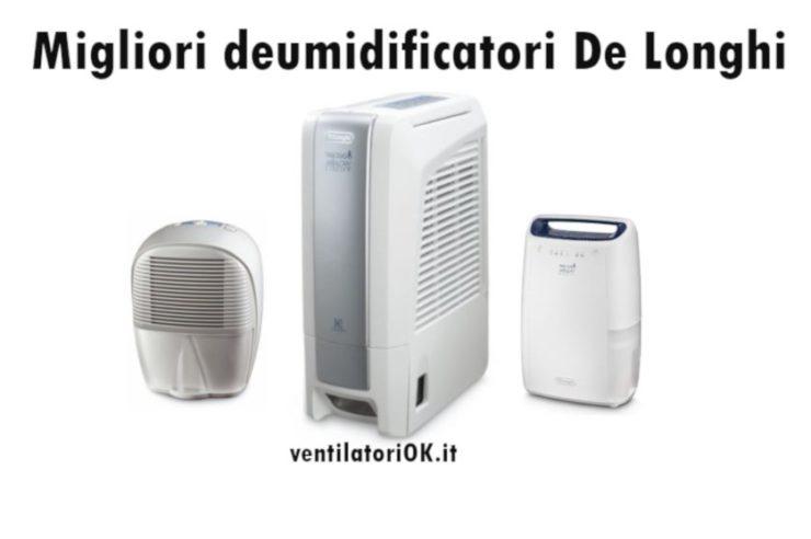 Bianco 18 l DeLonghi Aria Dry Light DNC 65 Deumidificatore