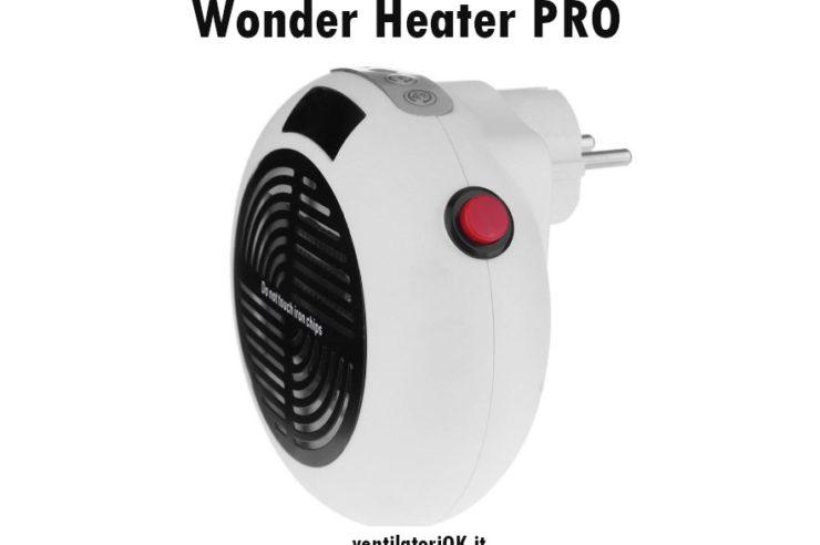 recensione con opinioni wonder heater pro