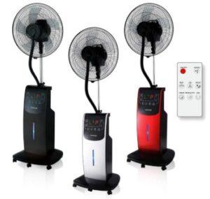 Ventilatore con nebulizzatore digitale Dardaruga